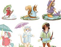 Rain Parade - Character Design