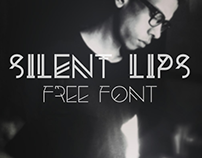Introducing The FREE Silent Lips Font