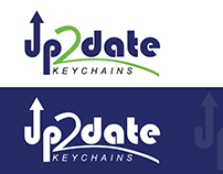 Logo Design | Up 2 date KEYCHAINS
