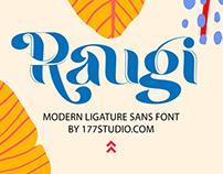 Free Font - Raugi