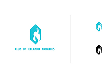 Club of icelandic fanatics logotype