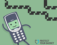 Protect Your Gadget - Digital Illustrations