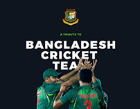 Freebie PSD - A Conceptual Design for BD Cricket Team