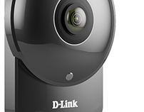 3D of Product • D-Link HD 180-Degree Wi-Fi Camera
