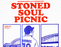"""""""Stoned Soul Picnic 2015"""" Poster"""