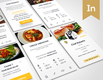 Chef booking Application & Website design