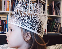 Coral crown for little fish lover