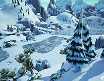 3D Game Art - Environment level Design