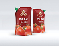 20+ Ketchup / Souce Doypack and Bottle Mockup Templates