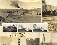 Freemont Resources Ltd. Vintage Photo Collage