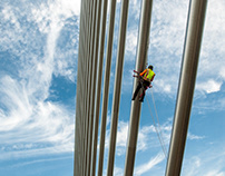 Veteran's Glass Skyway Bridge Inspection