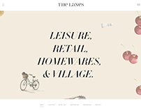 The Lanes website prototype