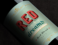 Red Silky Dreams / Red Blend