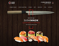 Суши и роллы.  Sushi and rolls.