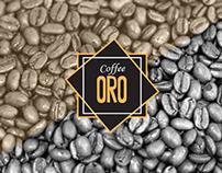 Coffee ORO - Brand Identity