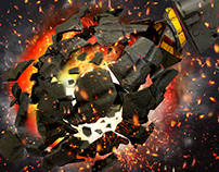 Explosion Grenade MK2