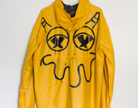Yellow Hand Painted Jacket