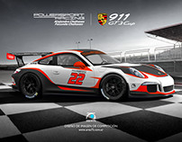 2016 Porsche 911 GT3 Cup PowerSport Racing USA
