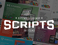 20 Scripts Bundle with Extended License – Only $14