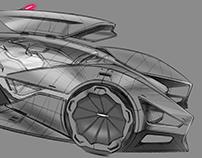 Ferrari 422 Dualità Top Design School Challenge