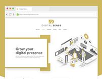 Website UI Mockup Design