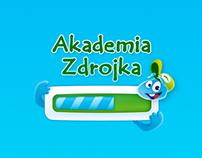 Akademia Zdrojka Website / Żywiec Zdrój