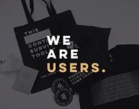 We are users / Grupo W Branding
