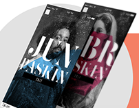 Paskin - UI - Digital magazine app