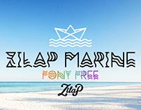 Zilap Marine Font Free