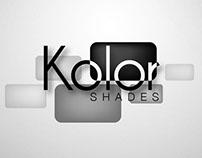Diseño de identificador visual Kolor Shades
