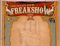 The Music Row Freak Show Brand