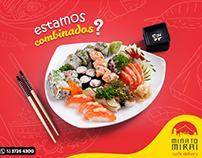 Identidade visual Minato Delivery - Sushi