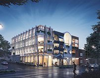 Project Dvp. Quarters by Baltinas Architecture