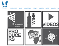 BlueCrane Imports Website