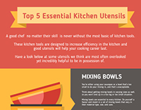 Top 5 Essential Kitchen Utensils