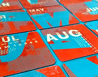 Calender Coasters