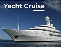 Luxury Yachts Rental Service Web Site Design Ux UI