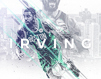 NBA Art | Kyrie Irving Project