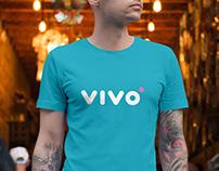 """""""vivo"""" marškinėlių dizainas"""