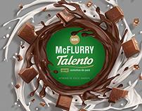 novo mcflurry - talento