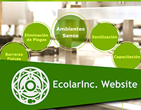 EcolarInc. Website