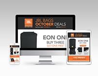 JBL Bags Email Design