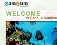 CANCUN SEMINARS // UI Website Design