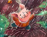 Useful tales. Pig named Gryaznulya. First book