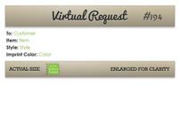 Proof/Virtual Sheet Redesign