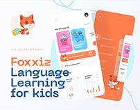 Foxxiz - English learning app