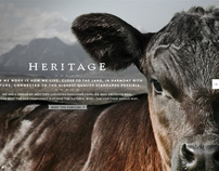 Heritage Angus Beef Website