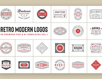 50 Retro Modern Logos Vol.1