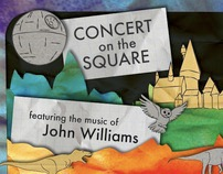 Concert on the Square Poster Set