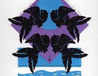 Paper cut Fish- Silhouette Designs by Leona